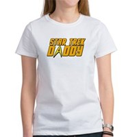 Star Trek Daddy Women's T-Shirt