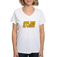 Star Trek Daddy Women's V-Neck T-Shirt