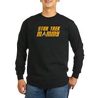 Star Trek Mommy Long Sleeve Dark T-Shirt