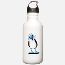 Blue Footed Booby Water Bottle