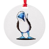 Blue footed booby Ornaments