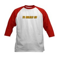 To Boldy Go Kids Baseball Jersey