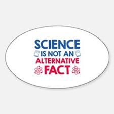 Science Sticker (Oval)