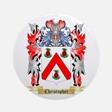 Christopher Ornament (Round)