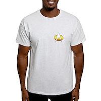 Star Trek Insignia Badge Chest Light T-Shirt