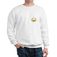 Star Trek Insignia Badge Chest Sweatshirt