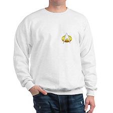 Star Trek Insignia Badge Chest Sweater