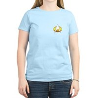 Star Trek Insignia Badge Chest Women's Light T-Shi