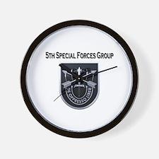 5th Group.JPG Wall Clock