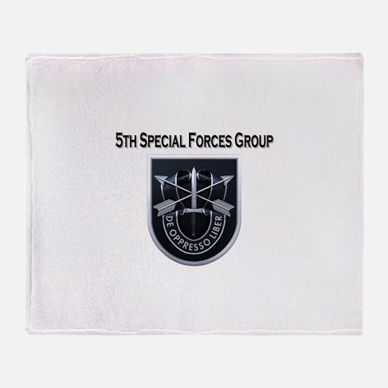 5th Group.JPG Throw Blanket