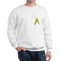 Star Trek Captains Badge Chest Sweatshirt