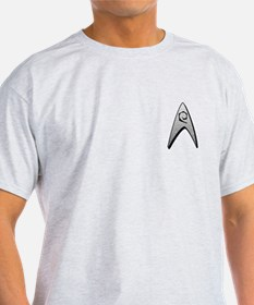 Star Trek Engineer Badge Chest T-Shirt
