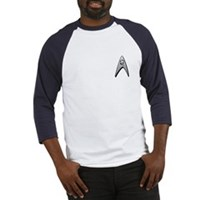 Star Trek Engineer Badge Chest Baseball Jersey