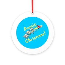 Christmas in Australia Ornament (Round)