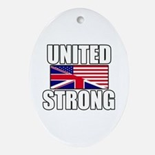 United Strong Ornament (Oval)