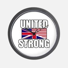 United Strong Wall Clock