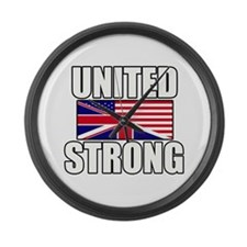 United Strong Large Wall Clock