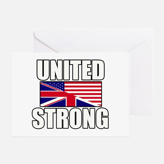United Strong Greeting Card