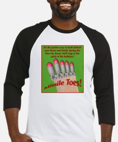 Missile Toes Baseball Jersey