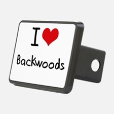 I Love Backwoods Hitch Cover