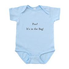 Poo Colostomy Stoma Infant Bodysuit