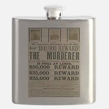 Civi War No.9 Flask
