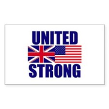 United Strong Decal