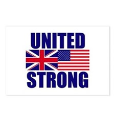 United Strong Postcards (Package of 8)