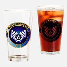 Staff Sergeant (SSgt) Drinking Glass