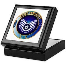 Staff Sergeant (SSgt) Keepsake Box