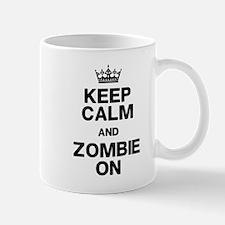 Keep Calm Zombie On Mug