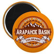 Arapahoe Basin Tangerine Magnet