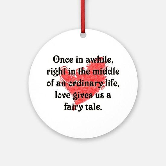 Fairy Tale Love Ornament (Round)