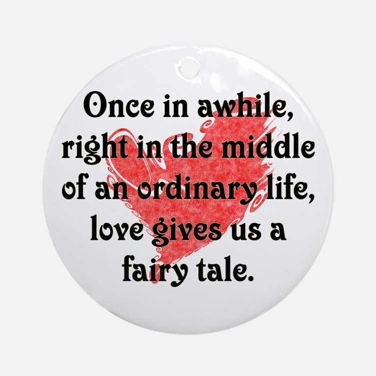 Fairy Tale Love Ornament (Round)