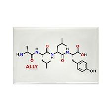 Ally molecularshirts.com Rectangle Magnet