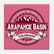 Arapahoe Basin Honeysuckle Tile Coaster