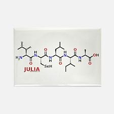 Julia molecularshirts.com Rectangle Magnet