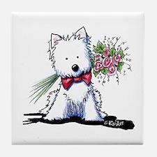 Mr. Perfect Tile Coaster