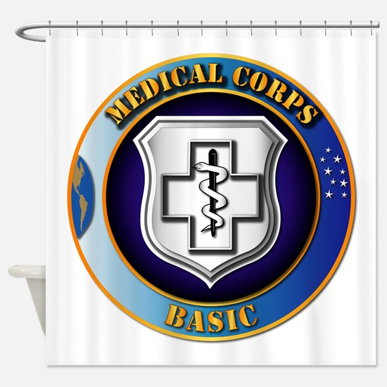 Medical Corps - Basic Shower Curtain