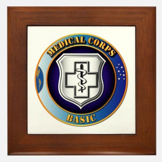 Medical Corps - Basic Framed Tile