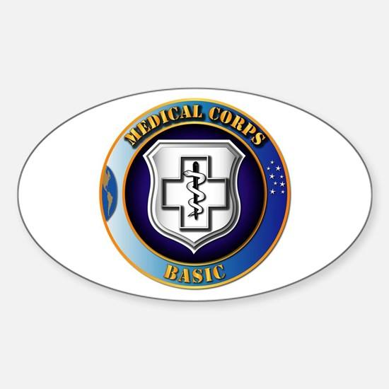 Medical Corps - Basic Sticker (Oval)