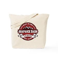 Arapahoe Basin Red Tote Bag