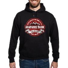 Arapahoe Basin Red Hoodie