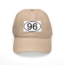 Number 96 Oval Baseball Cap