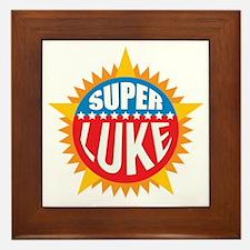Super Luke Framed Tile