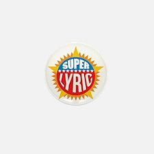 Super Lyric Mini Button