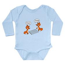 Optical illusion Trick Long Sleeve Infant Bodysuit