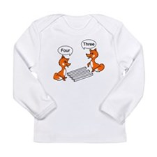 Optical illusion Trick Long Sleeve Infant T-Shirt