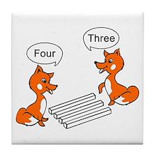 Optical illusion Trick Tile Coaster