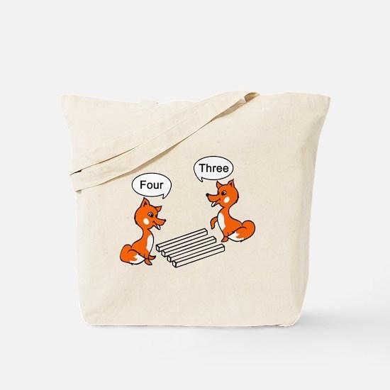 Optical illusion Trick Tote Bag